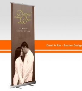 Dewi 7 Rio – Banner Design + Production