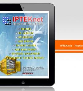 IPTEKNET – Poster Design