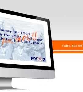 FedEX Kick Off Meeting – Flash Animation