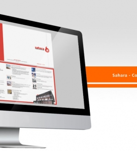 Sahara – Company Profile Design