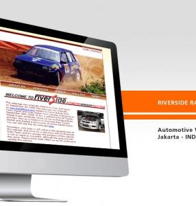 RIVERSIDE RALLY TEAM – Website Design