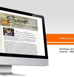 SUROSO GALLERY – Website Design