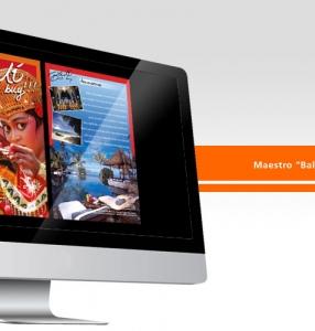 Maestro Indonesia – Catalog Layout Design