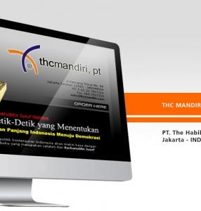 THC MANDIRI – Website Design