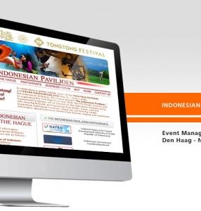 INDONESIAN PAVILJOEN – Website Design