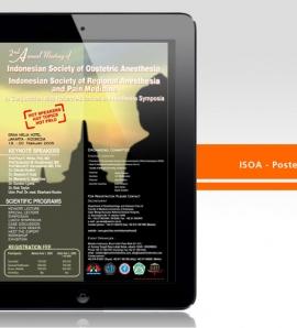 ISOA – Poster Design