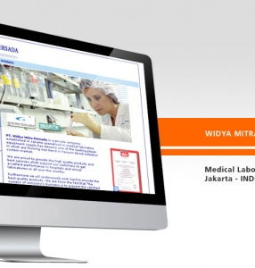 WIDYA MITRA – Website Design