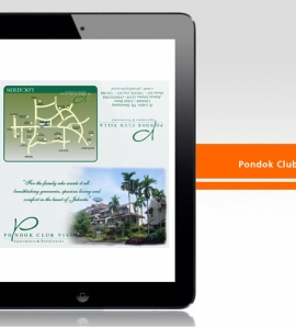 Pondok Club Villa – Brochure Design
