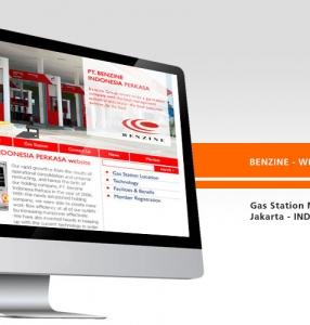 BENZINE – Website Design
