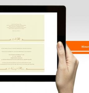Rino & Ninong – Wedding Invitation Design