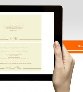Ninong & Rino –  Wedding Invitation Design