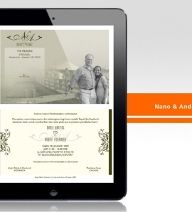 Nani & Andre – Wedding Invitation Design + Production