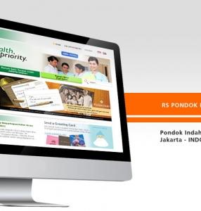 RS PONDOK INDAH – Website Design