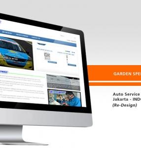 GARDEN SPEED – Website Design