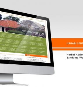 ILTHABI SENTRA HERBAL – Website Design