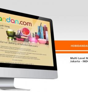 HOBI DANDAN – Website Design