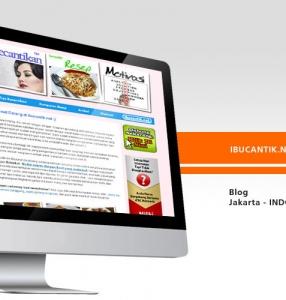 IBUCANTIK.NET – Website Design