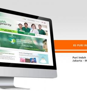 RUMAH SAKIT PURI INDAH – Website Design