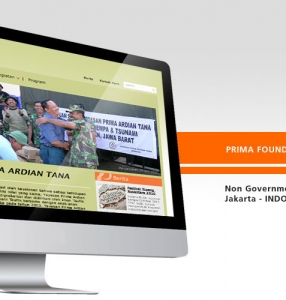 PRIMA FOUNDATION – Website Design