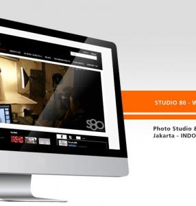 STUDIO 80 – Website Design