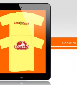 CSVJ Bromo Rally – T Shirt Design + Production