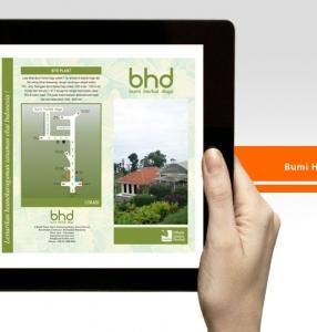BHD – Brochure Design