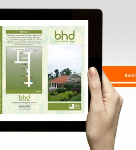 Bumi Herbal Dago – Brochure Design
