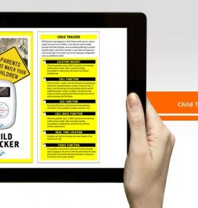 Child Tracker – Brochure Design