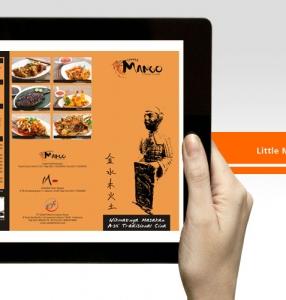 Little Mango Restaurant – Menu Design