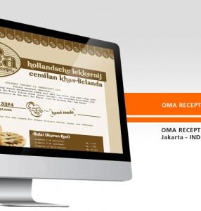 OMA RECEPT – Website Design