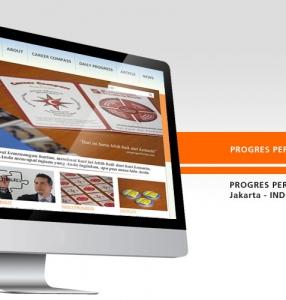 PROGRES PERFORMA – Website Design