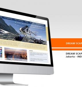 DREAM SCAPE – Website Design