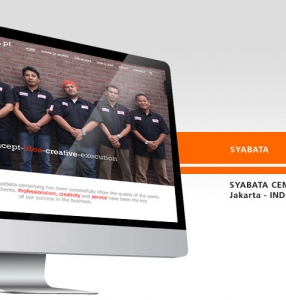 SYABATA – Website Design