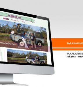 TARAKAISME – Website Design