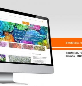 BROMELIA FLOWERS – Website Design