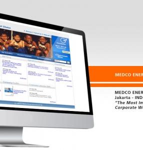 MEDCO ENERGI – Website Design